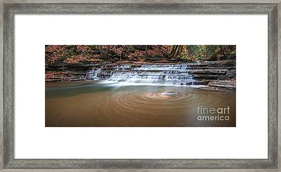 Whirlpool  Framed Print by Michael Ver Sprill