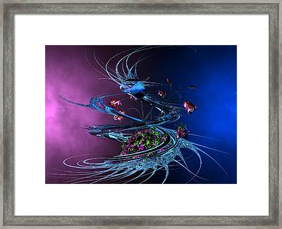 Whirlwind - Abstract Framed Print