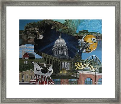 Whirlwind Around Wisconsin Framed Print by Rick Yanke