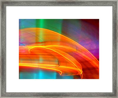 Whirlwind On Venus Framed Print by James Welch