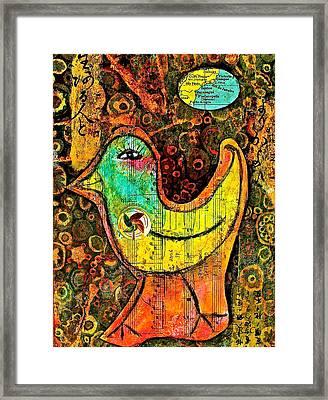 Whirly Bird Framed Print