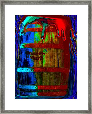 Whiskey A Go Go Framed Print by Alec Drake