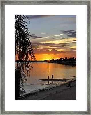 Framed Print featuring the photograph Whiskey Joe's by Laurie Perry