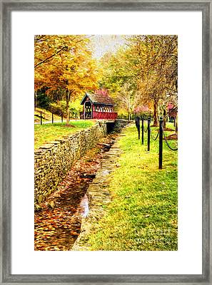 Whisky Creek Framed Print by Darren Fisher