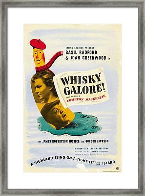 Whisky Galore, Aka Whisky Galore, Us Framed Print by Everett