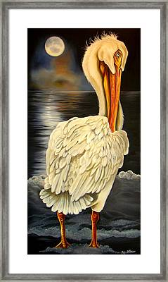 Whisper And Shout Framed Print by Phyllis Beiser
