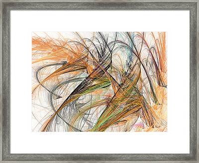 Whisper Framed Print