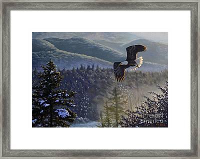 Whisper From The Valley Framed Print