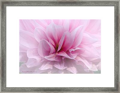 Whisper Love Framed Print