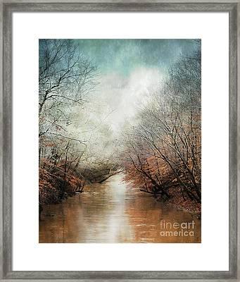 Whisper Of Winter Framed Print