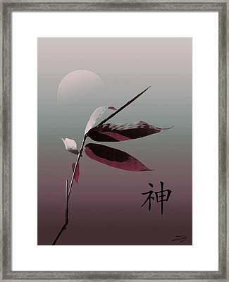 Whispering Bamboo  Framed Print by IM Spadecaller