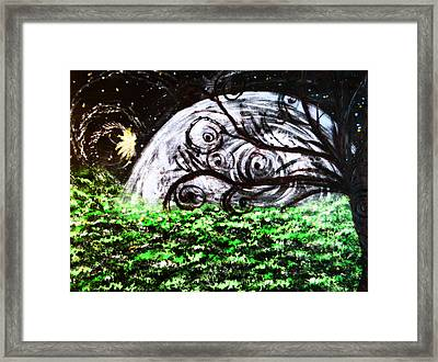 Whispering Fairytales Framed Print by Sherry Flaker