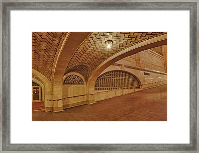 Whispering Gallery Framed Print by Susan Candelario