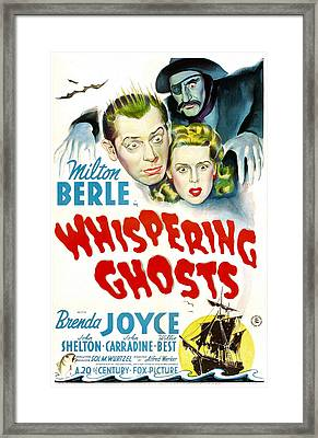 Whispering Ghosts, Us Poster, From Top Framed Print by Everett
