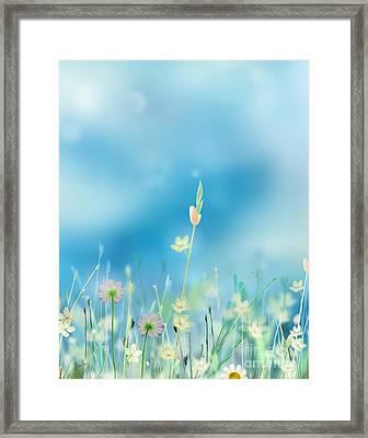 Whispering Heaven Framed Print by Bedros Awak