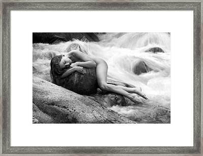 Whispering Of The River Framed Print
