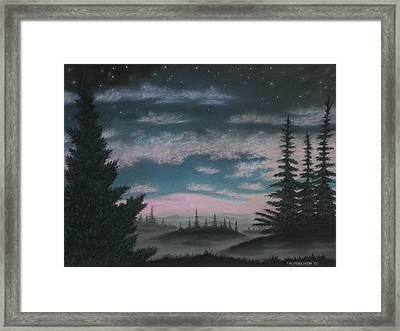 Whispering Pines 02 Framed Print
