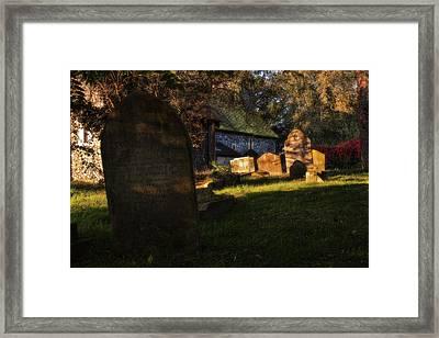 'whispering Your Name' Framed Print