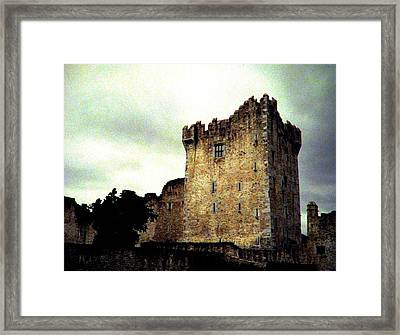 Whispers And Footsteps Framed Print by Angela Davies