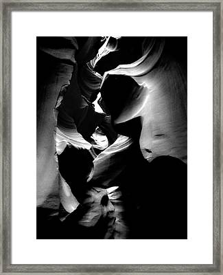 Whispers Framed Print by Lovejoy Creations