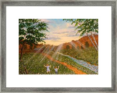 Whispers To God Framed Print by David Bentley