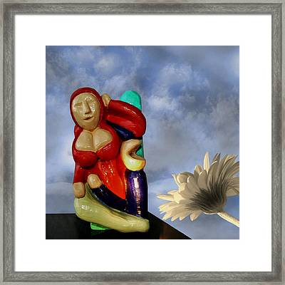 Whistle Blower Framed Print by Barbara St Jean
