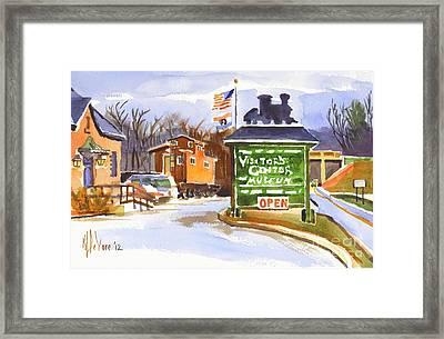 Whistle Junction In Ironton Missouri Framed Print by Kip DeVore