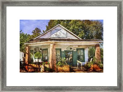Whistle Stop Cafe Framed Print