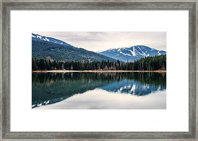 Whistler Blackcomb Reflection Framed Print