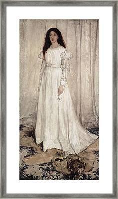 Whistler, James Abbott Mcneill Framed Print by Everett