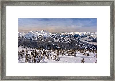 Whistler Mountain Winter Framed Print