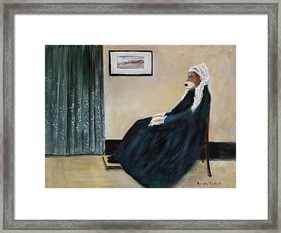 Whistlin Mother Framed Print