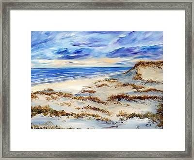 Whistling Winds Framed Print by Lisa Aerts