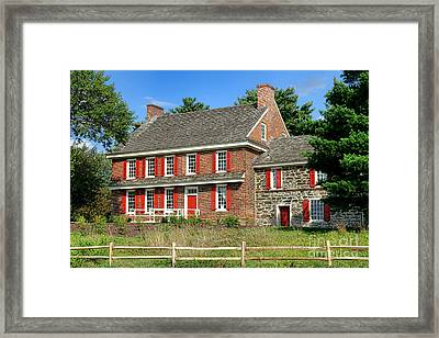 Whitall House Framed Print by Olivier Le Queinec