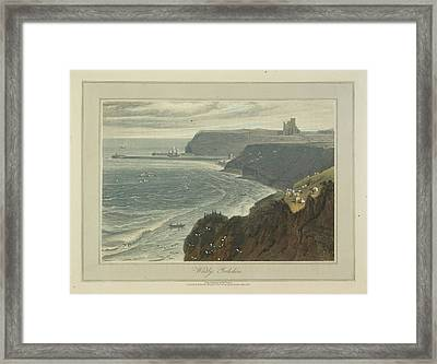 Whitby Framed Print by British Library