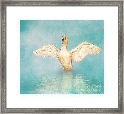 White Angel Framed Print by Hannes Cmarits