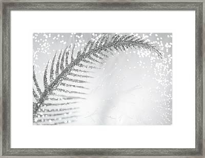 White Bird Framed Print