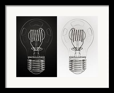 Electrical Power Framed Prints