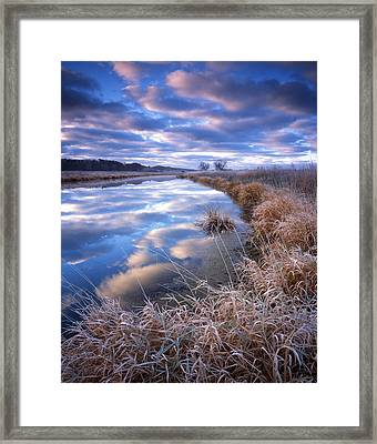 White Caps Framed Print by Ray Mathis