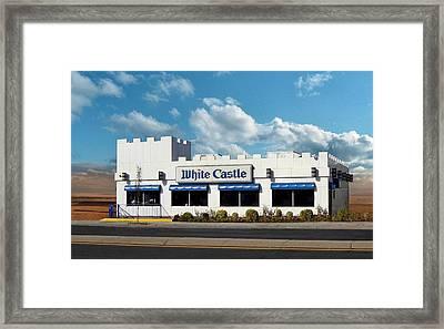 White Castle Framed Print by Bruce Lennon