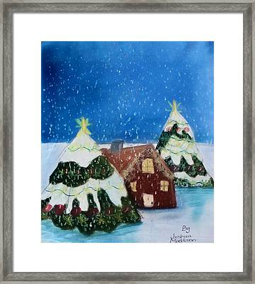 Christmasland Framed Print