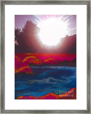 White Dwarf Framed Print