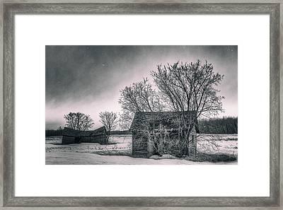 White Farms Framed Print by Stuart Deacon