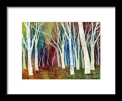 Tree Trunks Framed Prints