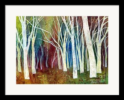 Dreamy Autumn Landscape Framed Prints
