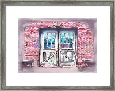 White Furniture Company Framed Print by Alicia Tanner