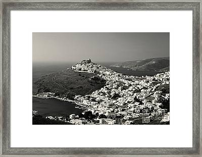 White Gems Framed Print by Aiolos Greek Collections