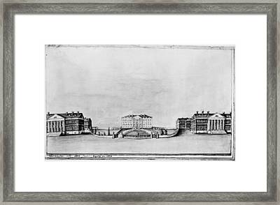 White House, 1821 Framed Print