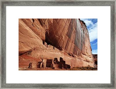 White House Ruin, Canyon De Chelly Framed Print