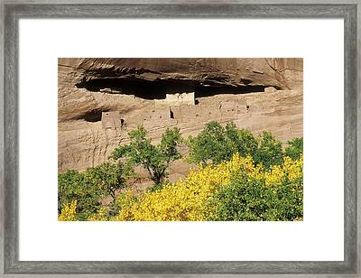 White House Ruins Framed Print by Jim West